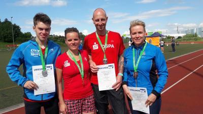 Foto zur Meldung: Landestitelkämpfe  im Bahnlauf - mit vier Medaillen für den SC Laage