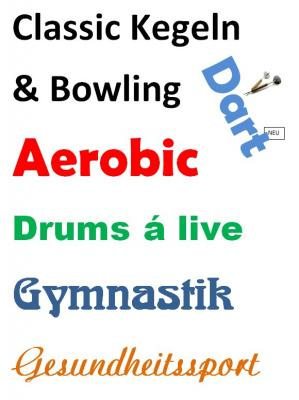 Vorschaubild zur Meldung: Eine kleine Auswahl unserer Sportarten und Sektionen