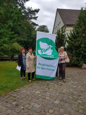 Vorschaubild zur Meldung: Flaggentag der Bürgermeisterinnen und Bürgermeister für den Frieden