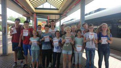 Vorschaubild zur Meldung: Feriencamp der Sportjugend in Bad Blankenburg