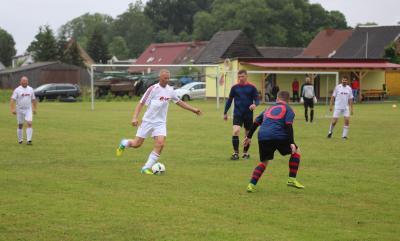 Foto zur Meldung: Ü35 vs Kickers Jus