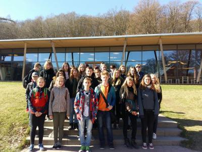 Foto zur Meldung: Aufregende Woche mit Schülern aus Lebork/Polen