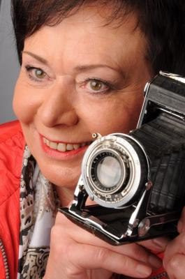 Foto zu Meldung: Brigitte Gundlach stellt im Alheimer Rathaus aus