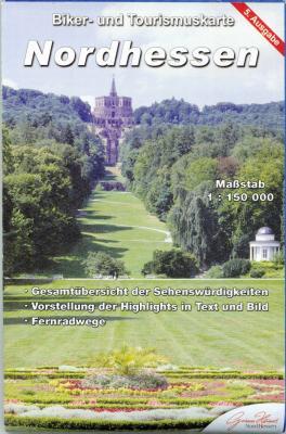 Vorschaubild zur Meldung: Biker- und Tourismuskarte Nordhessen