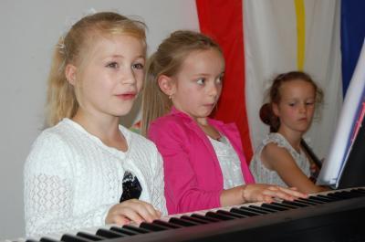 Foto zur Meldung: IKARUS-Kinder gaben ihr erstes Konzert
