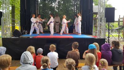 Foto zur Meldung: Vorführung beim Tag der Familie in Neuenhagen