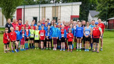 Foto zur Meldung: Straßen-Lauf Asse trafen sich in Steinhagen