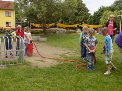 Foto zur Meldung: Sommerfest in Kita Boitzenburg