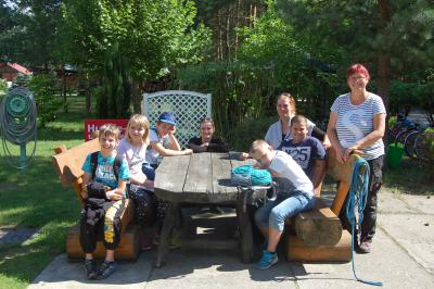 Foto zu Meldung: Besuch der Johanna Schule aus Bernau