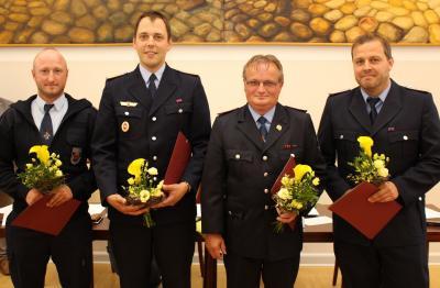 Vorschaubild zur Meldung: Neue Führung für Wittstocker Feuerwehr
