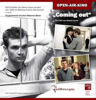 "7. Falkenseer Open-Air-Kinosommernacht zeigt ""Coming out – folge deinem Herzen"""