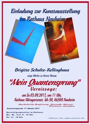 """Foto zur Meldung: Einladung zur Kunstausstellung """"Mein Quantensprung"""""""