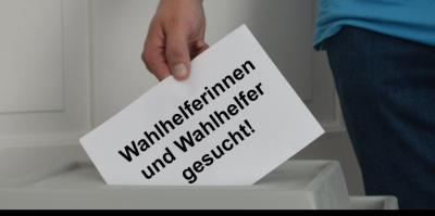 Wahlhelfer für die Bundestagswahl im September gesucht