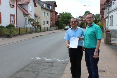 Von links Nizamettin Bulut und Thomas Eckhardt
