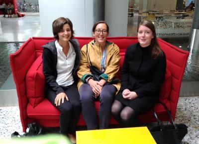 Das neue Sprecherinnen-Team des AK Genf