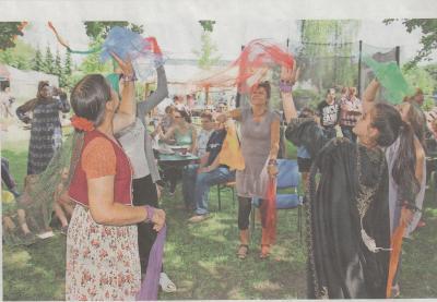 Foto zur Meldung: Sommerfest im Kyritzer Mehrgenerationenhaus am 18. Juli 2017