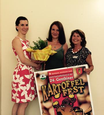 Foto zu Meldung: Entscheidung gefallen: Nicole Dittler wird neue Kartoffelkönigin