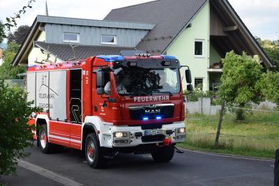 Das neue HLF 20 wurde den Schondraer Bürgern im Rahmen eines Festzuges vorgestellt.