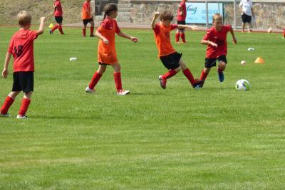 Foto zur Meldung: 10. Fußballcamp des ESV Lok Falkenberg - Tag 3