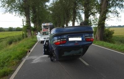 Vorschaubild zur Meldung: Verkehrsunfall vor Gartz (Oder)