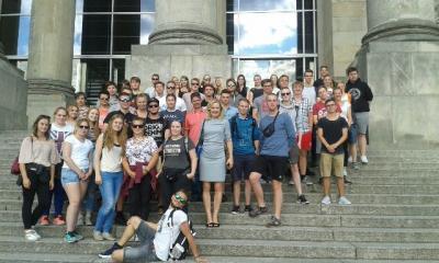 Foto zur Meldung: 17. Juli-19. Juli 2017  Projektfahrt nach Berlin