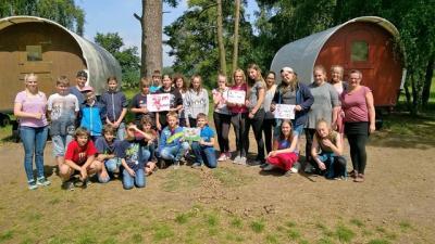 Foto zur Meldung: Klassenfahrt der 6c nach Grünow