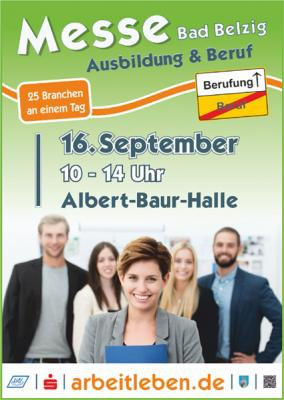 Foto zur Meldung: Messe für Ausbildung und Beruf in Bad Belzig - Für Einsteiger und Umsteiger