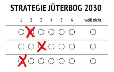Vorschaubild zur Meldung: Online-Umfrage zur Strategie Jüterbog 2030