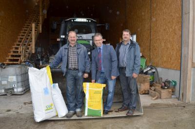 Foto zur Meldung: Wasserzweckverband stellt kostenlos Saatgut für die Zwischenfrucht zur Verfügung