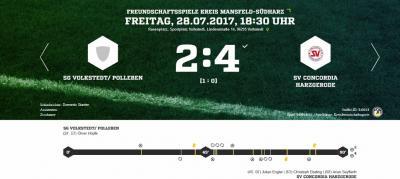 Foto zu Meldung: 4:2 Testspielerfolg in Volkstedt