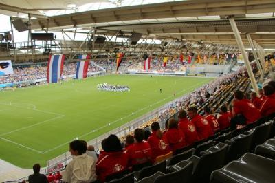 Foto zur Meldung: WMC Kerkrade Tag 4 – Im Stadion vorbei geschaut