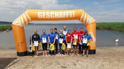 Foto zur Meldung: 20. Kummerower Seeschwimmen - auch für Läufer interessant