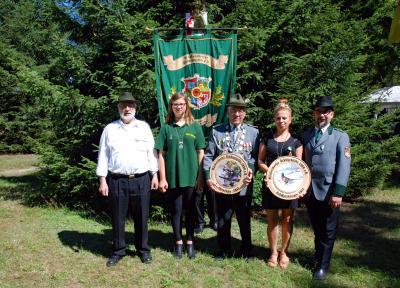 Foto zur Meldung: Rückersdorfer Schützen haben ein neues Königshaus