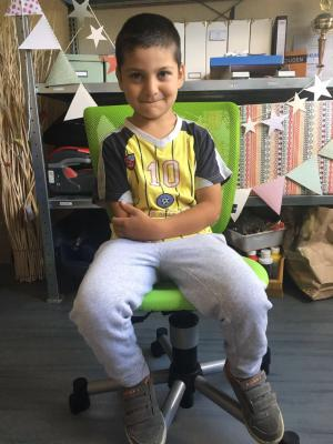 Foto zur Meldung: Schulstart 2017 - Wir helfen Ali gemeinsam bei Schreiben lernen!