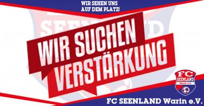 """Foto zu Meldung: + + + """"Stellenangebot"""" des FC Seenland Warin + + +"""