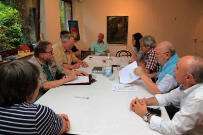 Foto zur Meldung: 26. Vorstandssitzung mit Sommerfest
