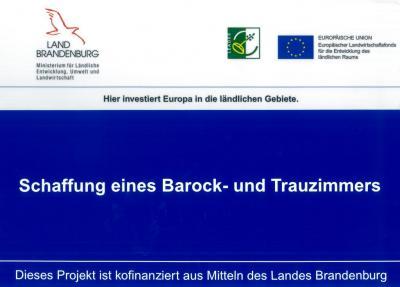 Foto zu Meldung: Umsetzung der Ergebnisse des Entwicklungskonzeptes für den Aufbau und die künstlerische- musikalische sowie wirtschaftliche Ausgestaltung des Graun-Zentrums in Wahrenbrück