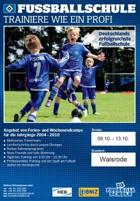 Foto zur Meldung: +++ Aufgepasst +++ HSV-Fussballschule bei Germania +++