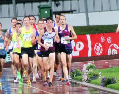 Foto zur Meldung: Christian Schreiner läuft über 5.000m Bestzeit