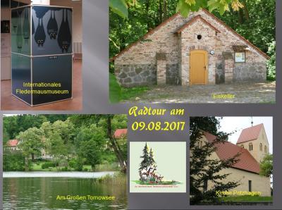 """Foto zu Meldung: Radtour der Rehfelder Heimatfreunde """"Durch die Märkische Schweiz zum Internationalen Federmausmuseum"""""""
