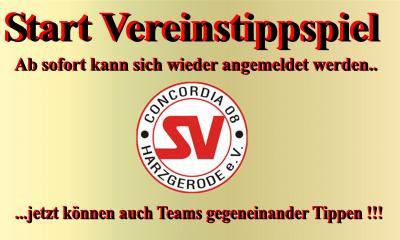 Foto zur Meldung: SV Concordia08 Tippspiel geht in neue Runde !