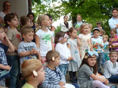 Die Kita Wingertstraße feierte ihr Sommerfest zusammen mit Familien und Freunden. Foto:Stadt Maintal