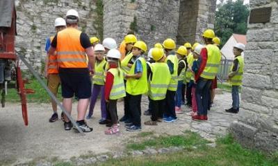 """Vorschaubild zur Meldung: Besuch der """"Kinder von Tschernobyl"""""""