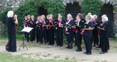 Rehfelder Sängerkreis beim Brandenburgischen Chorfest in Rheinsberg