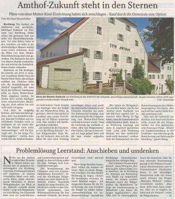 Auszug Der Bayerwald Bote 08.08.2017