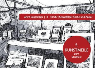 """Die Kunstmeile wird von der Interessengemeinschaft Zentrum (IGZ) der Lokalen Agenda 21 organisiert, in Zusammenarbeit mit der Partnerschaft für Demokratie, dem Netzwerk """"Made in Falkensee"""" und den Kreativen Hobby-Künstlern."""