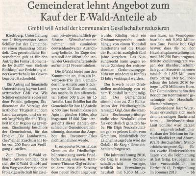 Auszug Der Bayerwald Bote 09.08.2017