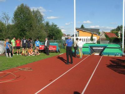 Foto zur Meldung: Neues Highlight auf dem Nieskyer Sportplatz