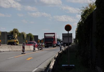 Fahrbahnerneuerung zwischen Egeln und Egeln-Nord