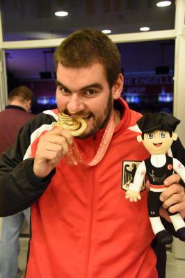 Foto zur Meldung: Überraschendes Gold für deutsche Bowler mit Rene Schulz vom GSV Braunschweig